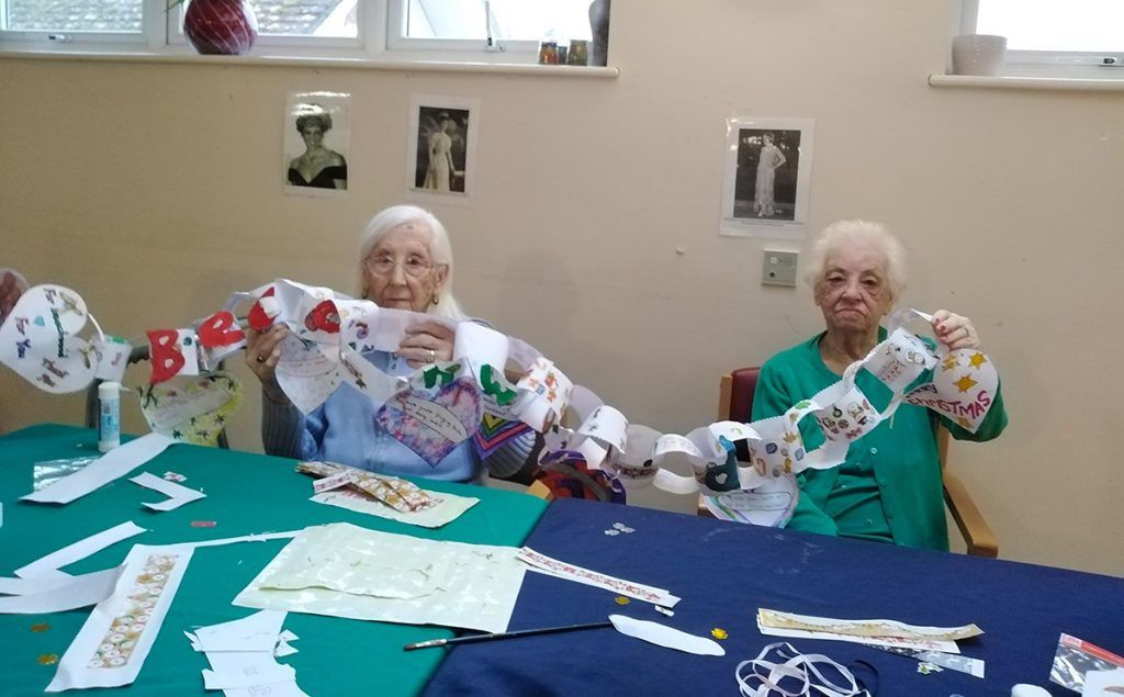 Christmas Activities at the Georgiana Care Home