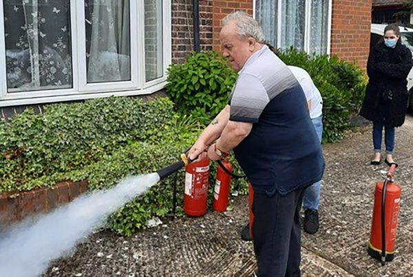 Fire Warden Safety Training at the Victoriana Care Home
