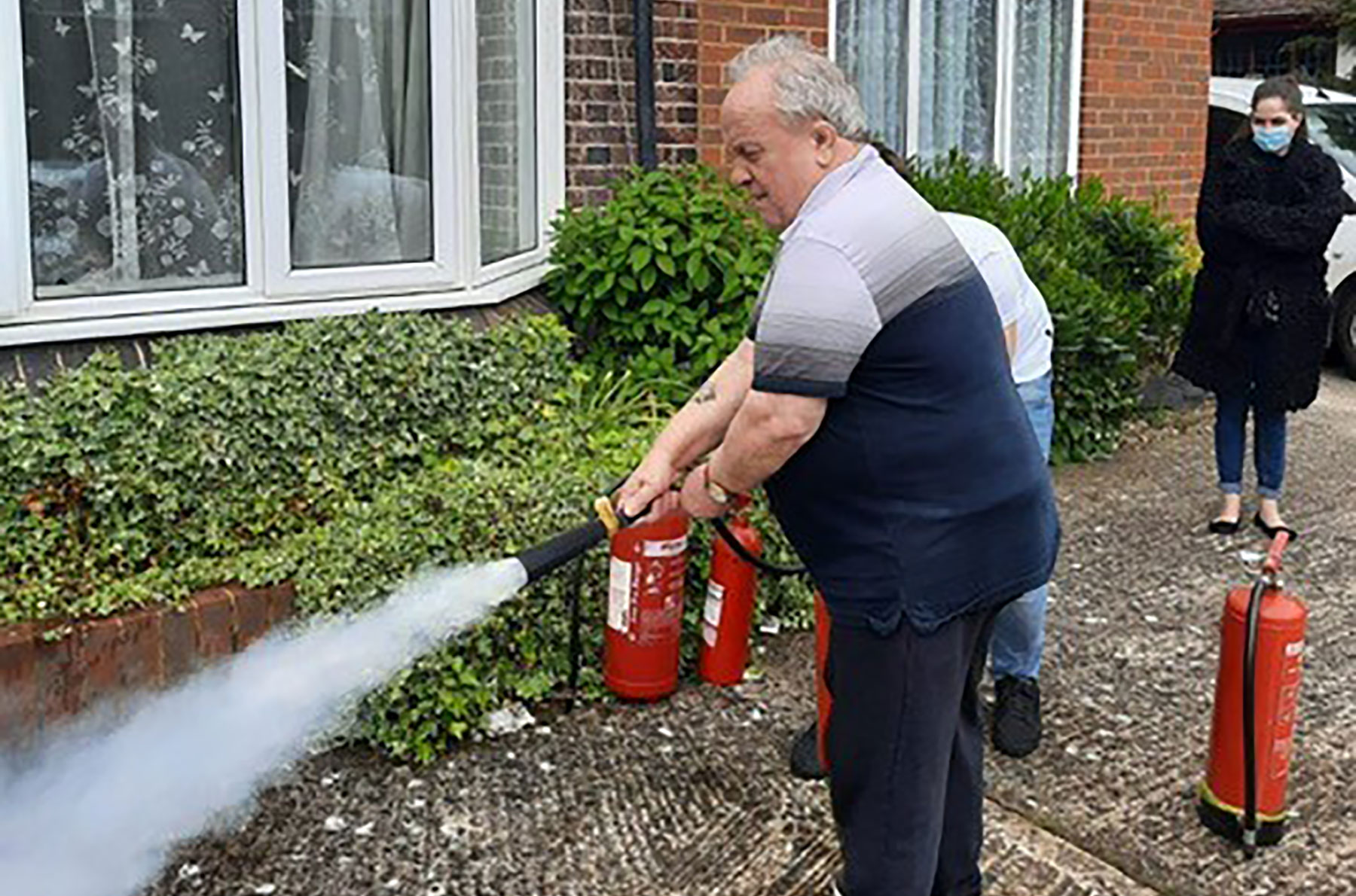 Resident James becomes Fire Warden