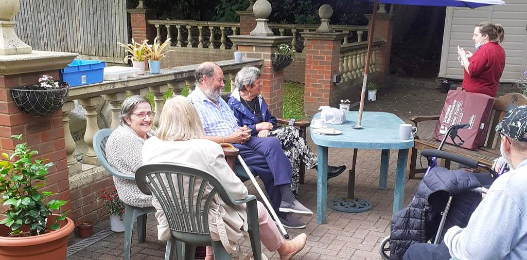 Garden Part at The Victoriana Care Home