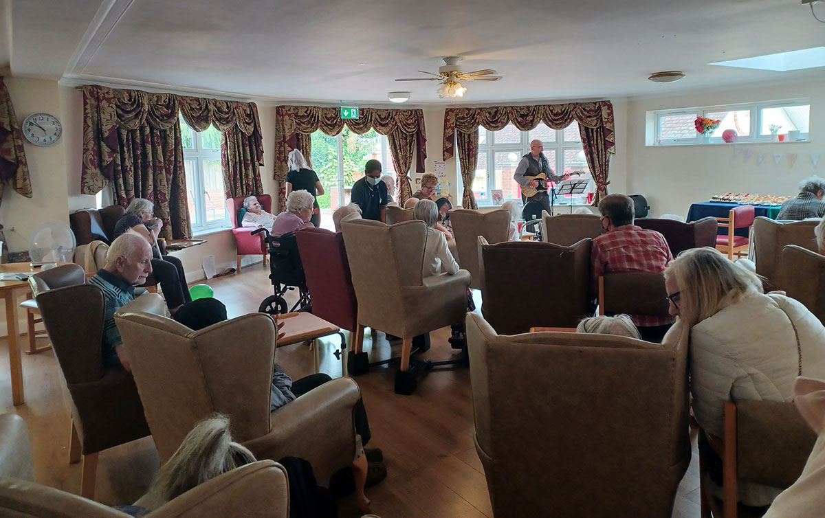 Macmillan Coffee Morning celebrated by Heritage Care Homes